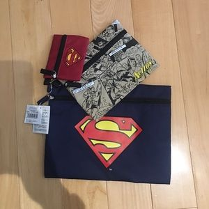 Other - NWT Superman pouches